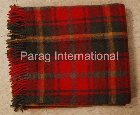 Tartan Blanket Model 001