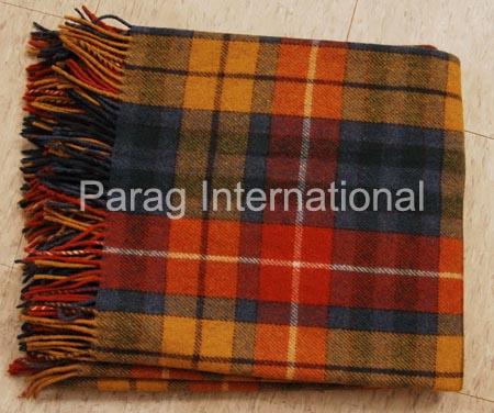 Tartan Blanket Exporter