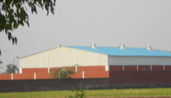 Out view Of blankets warehouse